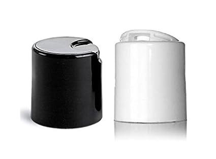WM - 20 mm - 24 mm Replacement Disc Top Closure Dispensing Top (Press Disk)  (Black, White)
