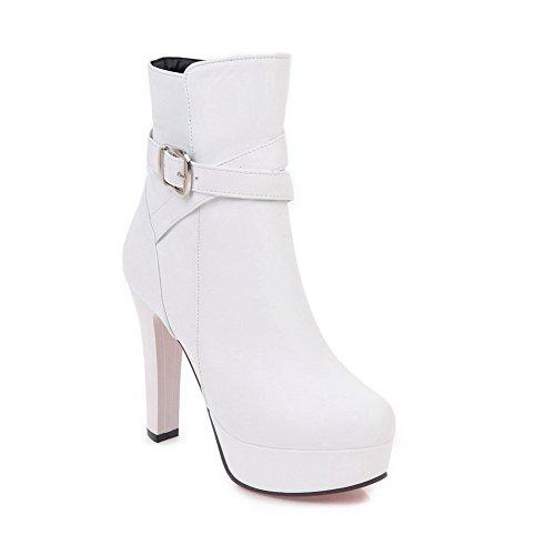 1TO9 Femme Compensées Sandales Blanc Inconnu Mns02562 TdwqTa