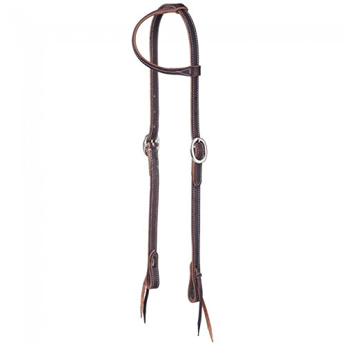 Headstall Tie Ends - Tough-1 Premium Harness One Ear Headstall w/Tie