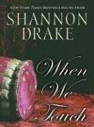 book cover of When We Touch