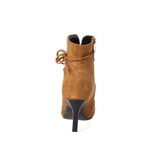 BalaMasa Abl10024, Sandales Compensées femme Jaune
