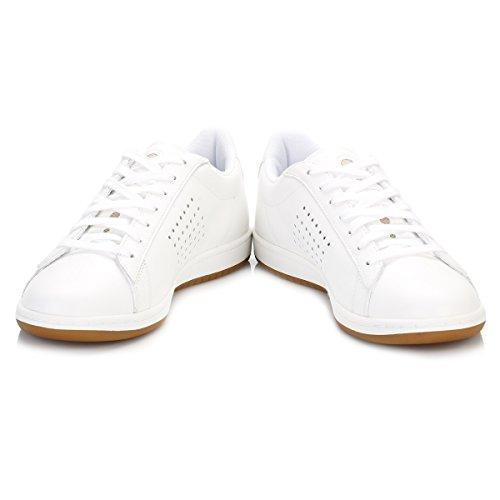 Le Coq Sportif Herren Optical Weiß Arthur Ashe Gum Sneakers