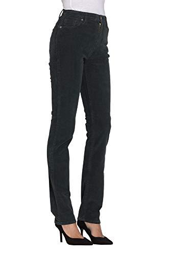 Es 40 Terciopelo Jeans Para Pantalones Liso Mujer Carrera Color v7T08wqw4