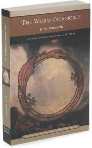 book cover of The Worm Ouroboros
