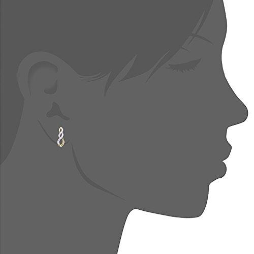 Naava Femme 18carats (750/1000) Or jaune Rond Blanc Diamant