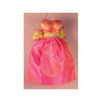Mini Gown Sachet - Hot Pink
