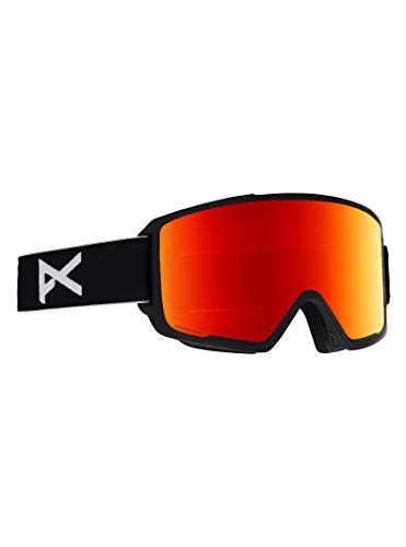 Anon M3 Goggle with Spare Lens, Black Frame Sonar Red Lens ()