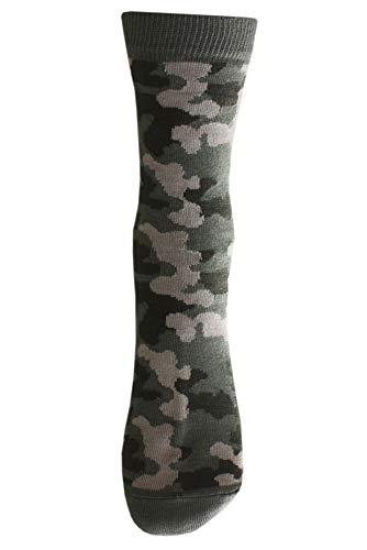 Weri Spezials Chaussettes pour Enfants, Couleur: Multicolore, Militaire 2