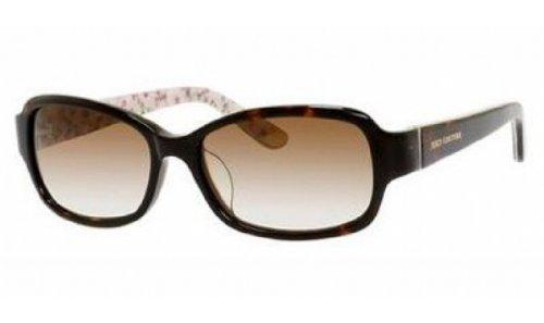 Juicy Couture Fashion Sunglasses - JUICY COUTURE Sunglasses 555/F/S 0086 Havana Floral 55MM
