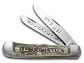 W.R. Case & Sons Cutlery John Deere Trapper Knife Gift Set