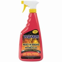 Detailer Mist - Wizards Products (WIZ22214) Mist-N-Shine Professional Detailer, 22 oz Bottle, Adds Gloss to Paint, Chrome and Glass