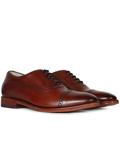 - Oliver Sweeney Men's Leather Mallory Oxford Shoes Tan 12 US
