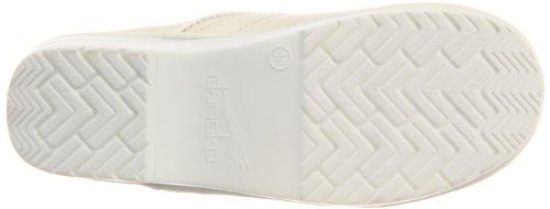 Dansko Women's Professional Pro Cabrio Leather Clog Blanc