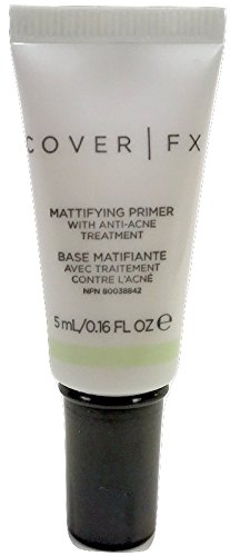 - Cover FX Mattifying Primer With Anti-Acne Treatment .16 Fluid Ounce Trial Size