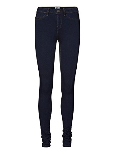Vero Moda Vmflex-it Nw Slim Jegging Ddb- Noos - Pantalones Mujer Azul (Dark Blue Denim)