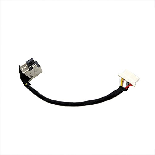 GinTai DC Power Jack Replacement for HP X360 13-4003dx 13-4005dx 13-4001 13-4001dx 13-4002dx 13-4193dx 13-4193nr 13-4194dx 13-4101dx 13-4102dx 13-4103dx 13t-4000 cto 13-4100dx 13-4105dx 13-4107tu