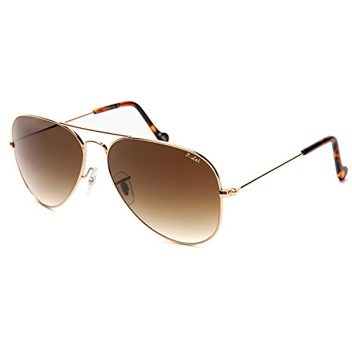 O-LET Aviator Sunglasses, Womens Aviator Sunglass, Glass Lens Aviators-UV400 Protection