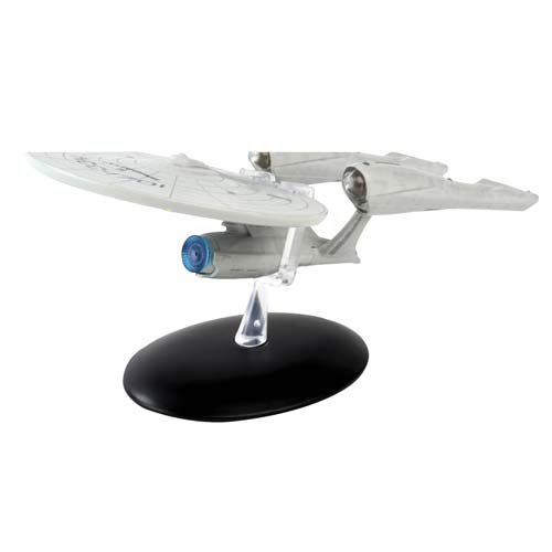 (Star Trek Starships 2009 Movie Enterprise Ship with Magazine )