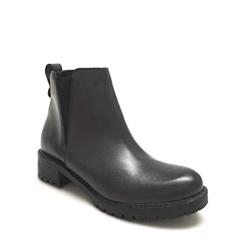 Shoe Gar Made Stivaletti Beatles Pelle Italy Con In Vera Grigio Donna Grigi Carrarmato HOqSxH