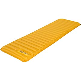 ALPS Mountaineering Featherlite Series Air Pad 3 Our ALPS Mountaineering R-Value 1 Featherlite Series is extremely lightweight and compact Inflation takes just a couple of minutes and is done via the included pump near the head of the pad Small pack size makes this air pad super easy for travel and storage purposes