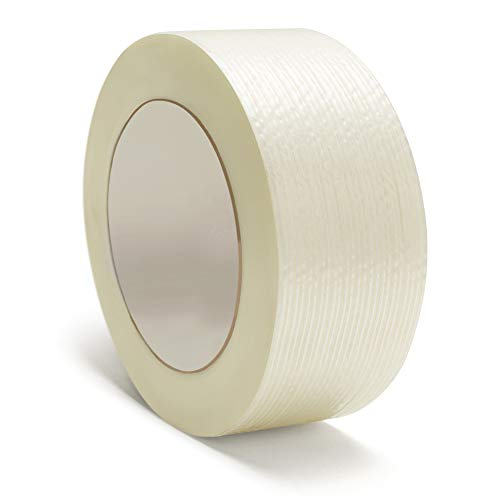 - Heavy Duty Packing Tape, Filament Reinforced Tape Rolls, 4.0 Mil Thick, Clear, 1 1/2 Inch x 60 Yards, 12 Pack
