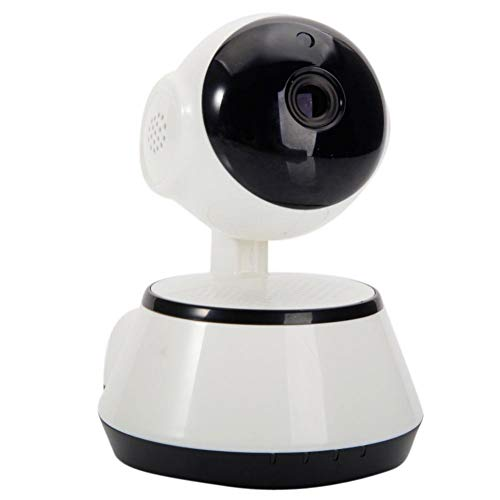 Home Security Camera , CMOS 1.0MP 3.6mm Lens IR-CUT 6-LED Gimbal Wireless IP Camera Indoor With Two-way Intercom Audio & Night Vision For Home Pet Baby Elder Nanny Monitoring ( Shipped From USA)
