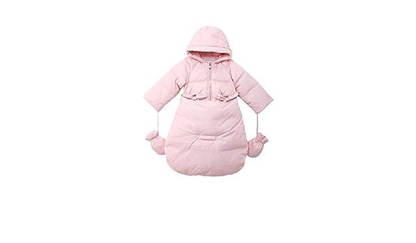 Oceankids Saco de Dormir Bebé Niña Rosado Nieve Cochecito Parte Inferior Desmontable 12-18 Meses: Amazon.es: Ropa y accesorios