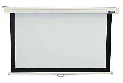 60 in. x 80 in. Econopro Deluxe Manual Wall Screen in 4:3 Video -