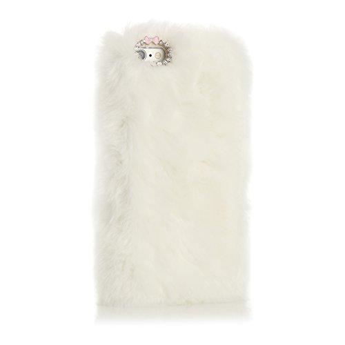 Coconut PLÜSCHI Fellhülle für Apple iPhone 6 weiß