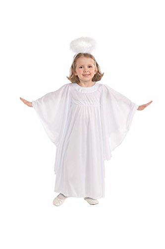 [Forum Novelties Deluxe Angel Costume, Child Small] (Angel Costume Makeup)