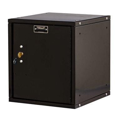 Cubix 1 Tier 1 Wide Modular Locker Color: Midnight Ebony