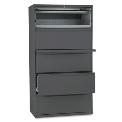 800 Series Five Drawer - HON885LS - HON 800 Series Five-Drawer Lateral File