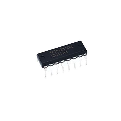 MAO YEYE 20pcs/lot DIP CD4511BE DIP-16 CMOS Logic IC 4000 Series CD4511 New and ()