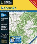 National Geographic TOPO! Nebraska Map CD-ROM (Windows)