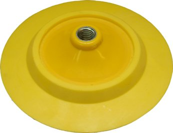 (Lake Country - Hook & Loop Rotary Flexible Backing Plate - 6 Inch Diameter)