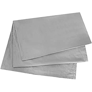 ECO bedding Body Pillow Cover, 300 Thread Count 100% Long Staple Cotton Sateen 20 x 54 Inches Body Pillow Case, Pillowcase with Envelope Closure, Silver Gray