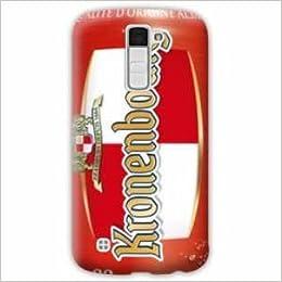 Amazon.com: Case Carcasa LG K10 Trompe oeil - - biere k B ...