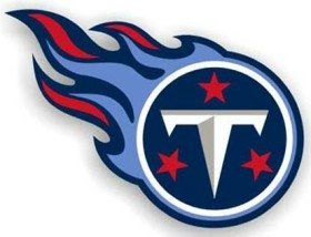 Tennessee Titans Car Magnet - 5