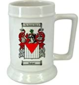 Hoglund Family Crest Stein / Hoglund Coat of Arms Stein