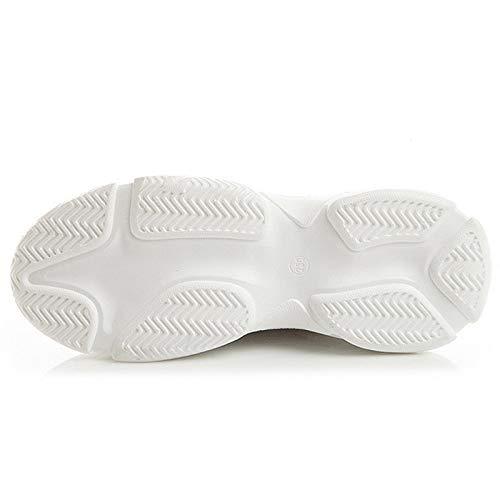 Platform Women GUNAINDMX Shoes Shoes Blue Femme Casual Ladies Sneakers Wedges White Women Trainers Fashion wxqpq0SX6
