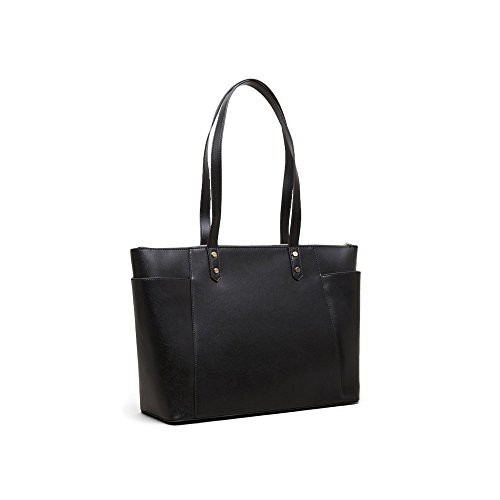Kenneth Cole Reaction Downtown Darling A-Frame Business Tote, Black by Kenneth Cole REACTION (Image #1)