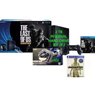 PS4 2TB Console Bundle with The Last of Us Remastered with Free Charge Base and Uncharted Game Voucher (B00X4UUNZ0) | Amazon price tracker / tracking, Amazon price history charts, Amazon price watches, Amazon price drop alerts