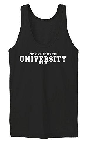 Cocaine Business University Tanktop Girls Nero Certified Freak