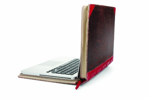 Leather Book Case for 13-Inch MacBook Pro