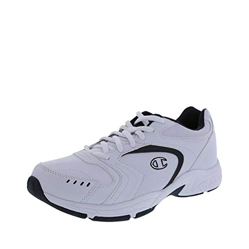 (Champion Men's White Prime Cross Trainer 12 Wide)
