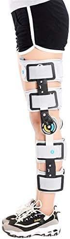ZJDU Hinged Knee Brace, Adjustable Post-Op Knee Support OA Unloading Knee Brace for ACL/Ligament/Sports Injuries, Mild Osteoarthritis & Preventive Protection Knee Joint Pain/Degeneration