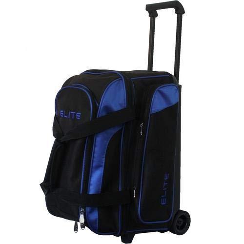 Elite Deuce 2 Ball Rolling Bowling Bag - Blue (Elite Bowling Ball Bag)