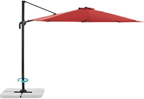 Le Conte 10ft Offset Cantilever Patio Umbrella Outdoor Hanging Umbrella