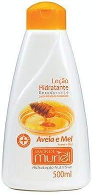 Hidratante Corporal Amor Aveia 500ml, Muriel