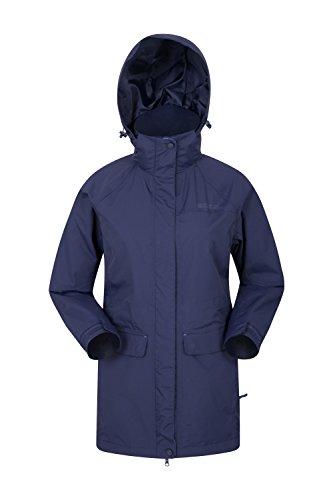 De Mountain Marche Bleu Pluie Étanches Pour Marine Coutures La Capuche Femme Respirant Glacial Imperméable Chaud Warehouse Manteau Idéal Avec Amovible Veste Et 0qwRHS0r